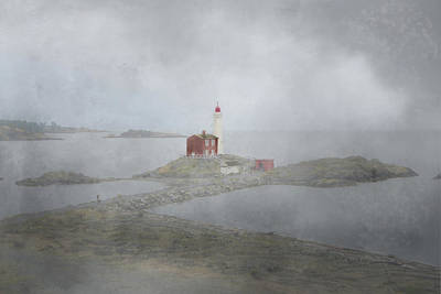 Photograph - Foggy Shoreline by Marilyn Wilson