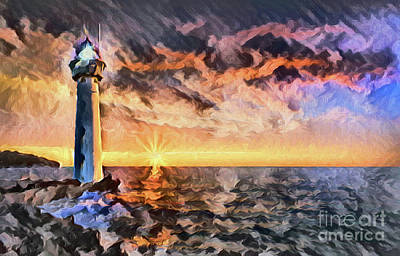 Photograph - Lighthouse A8-4 by Ray Shrewsberry