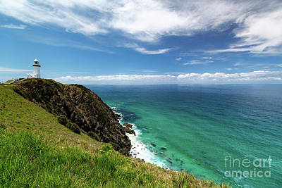 Photograph - Lighthouse At Cape Byron by Jonathan Painter