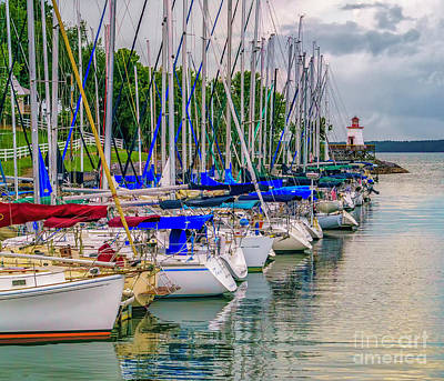 Photograph - Lighthouse Landing On Kentucky Lake by Nick Zelinsky