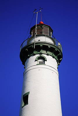 Photograph - Lighthouse - Presque Isle Michigan 3 by Frank Romeo