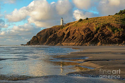 Photograph - Lighthouse Reflections by Mike Dawson