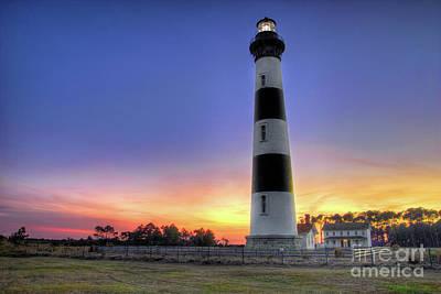 Photograph - Lighthouse Sunset by Dan Carmichael