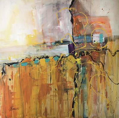 Painting - Lightning Storm by Terri Einer