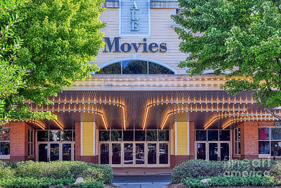 Photograph - Lights And Action At Birkdale Movie Theater by Amy Dundon