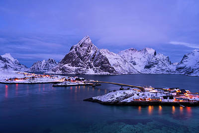 Photograph - Lights Of Sakrisoy by Michael Blanchette