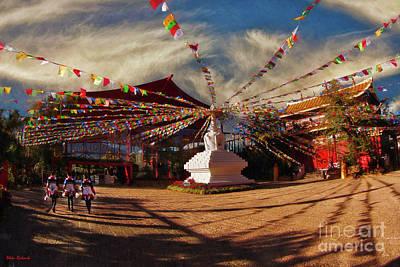 Photograph - Lijiang Sifang Square  by Blake Richards