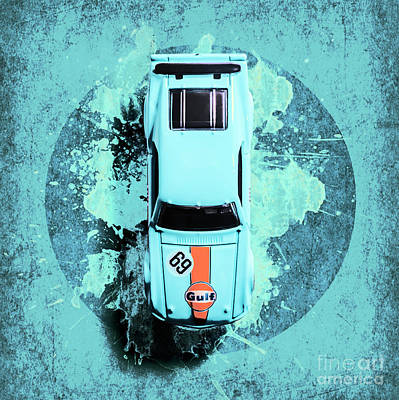 Automotive Paintings Royalty Free Images - Like a boss Royalty-Free Image by Jorgo Photography - Wall Art Gallery