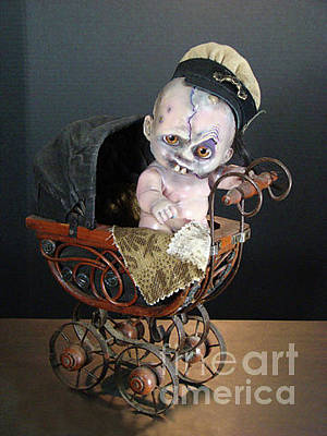 Sculpture - Lil' Orphan Andy by Cindy DeGraw