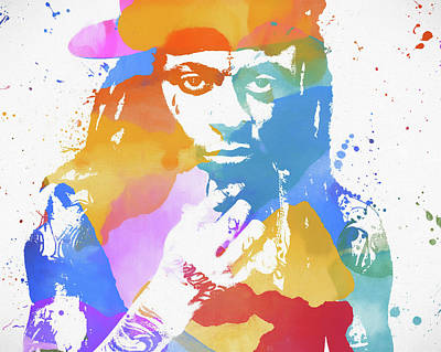 Painting - Lil Wayne by Dan Sproul