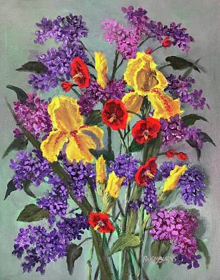 Painting - Lilac Days by Randy Burns