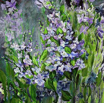 Painting - Lilac Dream by Sandra Day