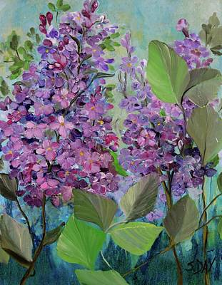 Painting - Lilac Love by Sandra Day