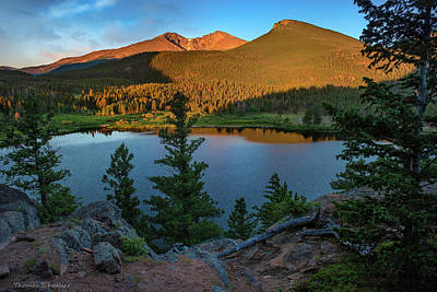 Photograph - Lily Lake Overlook by Expressive Landscapes Fine Art Photography by Thom