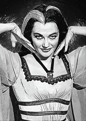 Lilies Digital Art - Lily Munster by Zapista Zapista
