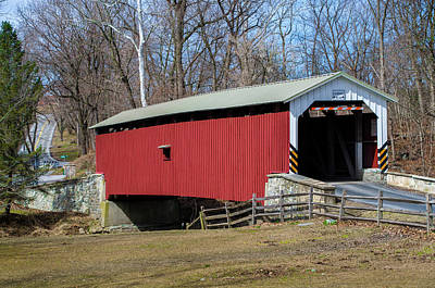 Photograph - Lime Valley Covered Bridge by Bill Cannon
