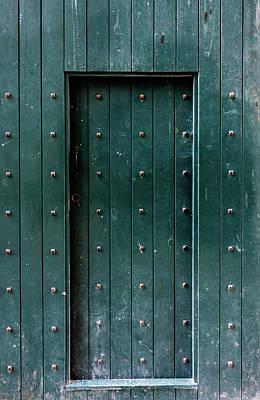 Photograph - Lincoln Castle Door by Scott Lyons