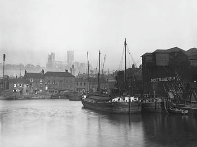 Lincoln Docks Art Print by Hulton Archive