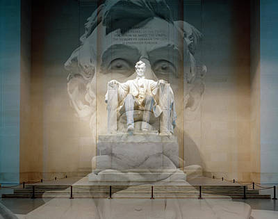 Digital Art - Lincoln Memorial by Gary Grayson