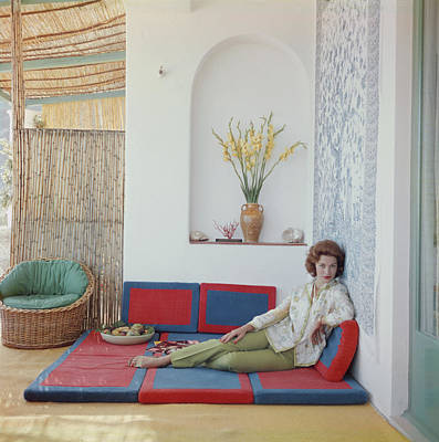 Photograph - Linda Christian by Slim Aarons