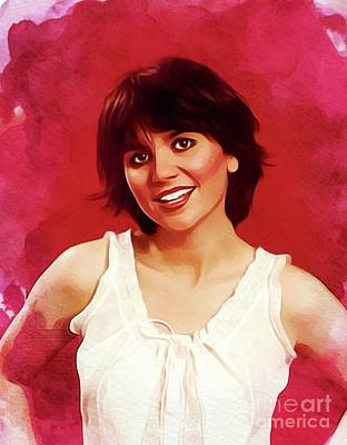 Royalty-Free and Rights-Managed Images - Linda Ronstadt, Music Legend by Esoterica Art Agency
