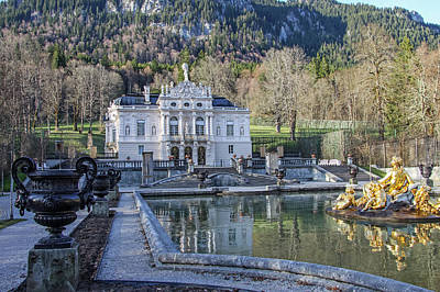 Photograph - Linderhof Castle by Dawn Richards