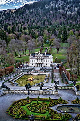 Photograph - Linderhof Palace by Anthony Dezenzio