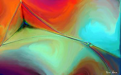 Digital Art - Linear  Elegy by Rein Nomm