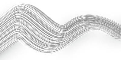 Digital Art Royalty Free Images - Lines and Curves 5 Royalty-Free Image by Scott Norris