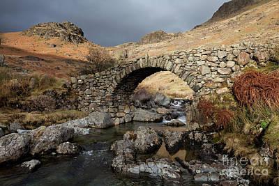 Photograph - Lingcove Bridge by Gavin Dronfield