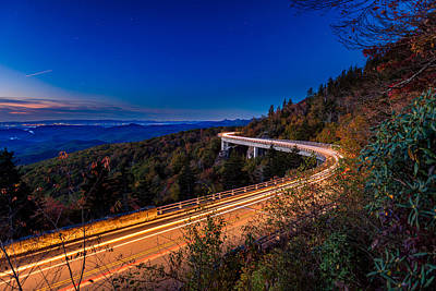 Linn Cove Viaduct - Blue Ridge Parkway Art Print