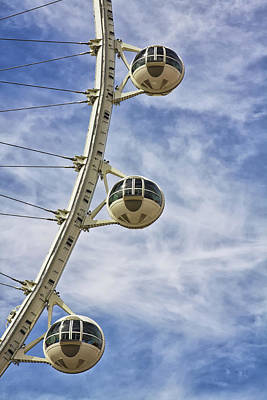 Photograph - Linq High Roller Wheel In Las Vegas by Tatiana Travelways