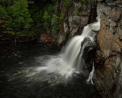 Photograph - Linville Falls - Linville Gorge North Carolina by Mike Koenig
