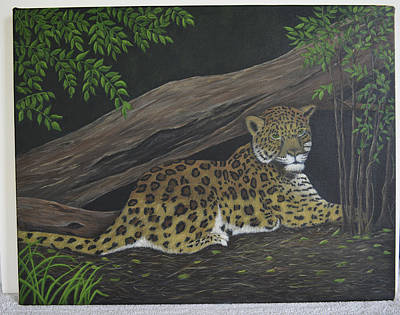 Painting - Leopard by Gloria Johnson