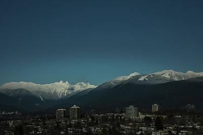 Photograph - Lion Mountain Peaks by Juan Contreras
