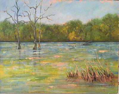 Painting - Lion's Den Marsh 3 by Marcia Hero