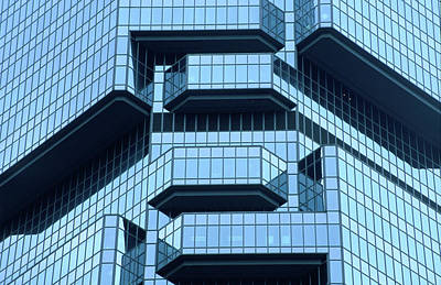 Photograph - Lippo Centre In Admiralty District, Low by Frank Carter