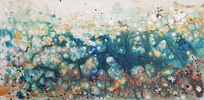 Painting - Liquid Energy 22 by Hilary Winfield