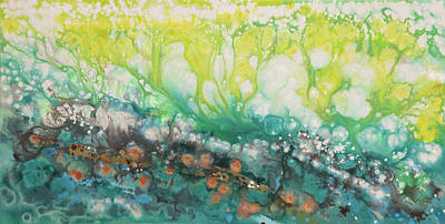 Painting - Liquid Energy 23 by Hilary Winfield