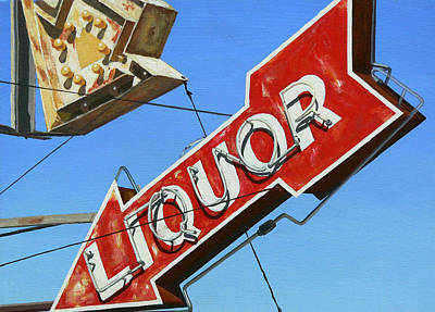 Royalty-Free and Rights-Managed Images - Liquor Arrow Number Two by Michael Ward