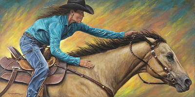 Painting - Lisa And Louie by Kim Lockman