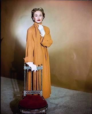 Photograph - Lisa Fonssagrives Wearing Harry Williams Ltd by Horst P. Horst