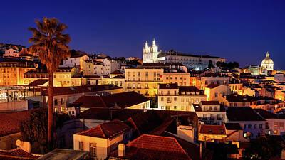 Photograph - Lisbon City Of Hills by Michael Blanchette