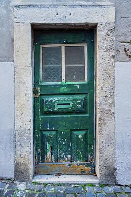 Photograph - Lisbon Door #1 by Michael Blanchette