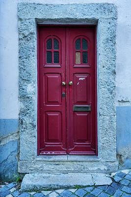 Photograph - Lisbon Door #2 by Michael Blanchette