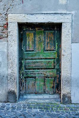 Photograph - Lisbon Door #4 by Michael Blanchette