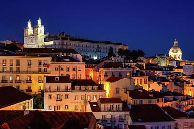 Photograph - Lisbon Monuments by Michael Blanchette