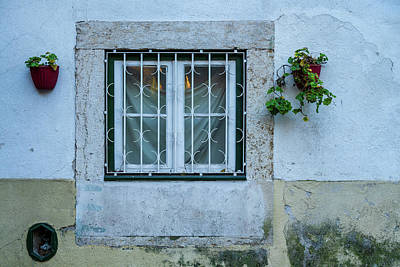 Photograph - Lisbon Window by Michael Blanchette