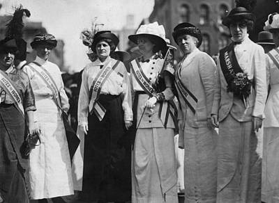 Photograph - Literary Suffragettes by Paul Thompson