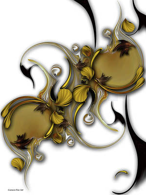 Digital Art - Literature Over Approach by Carmen Fine Art